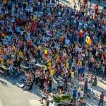 De la extaz la agnoie, România-Elveția în Piața Ovidiu