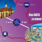Cum poți să ajungi gratis de la Cluj, Timișoara sau Iași, în mai puțin de două ore, direct pe plajă?
