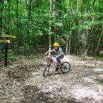 Paradis Land, paradisul pe bicicletă în pădurea Neptun