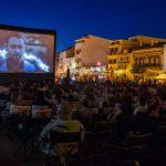 Filme în aer liber pe faleza Cazino și în Piața Ovidiu